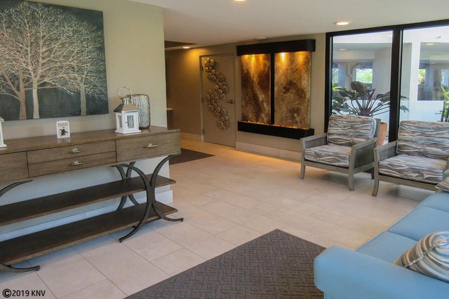 Lobby at Riviera Club Resort Condominiums