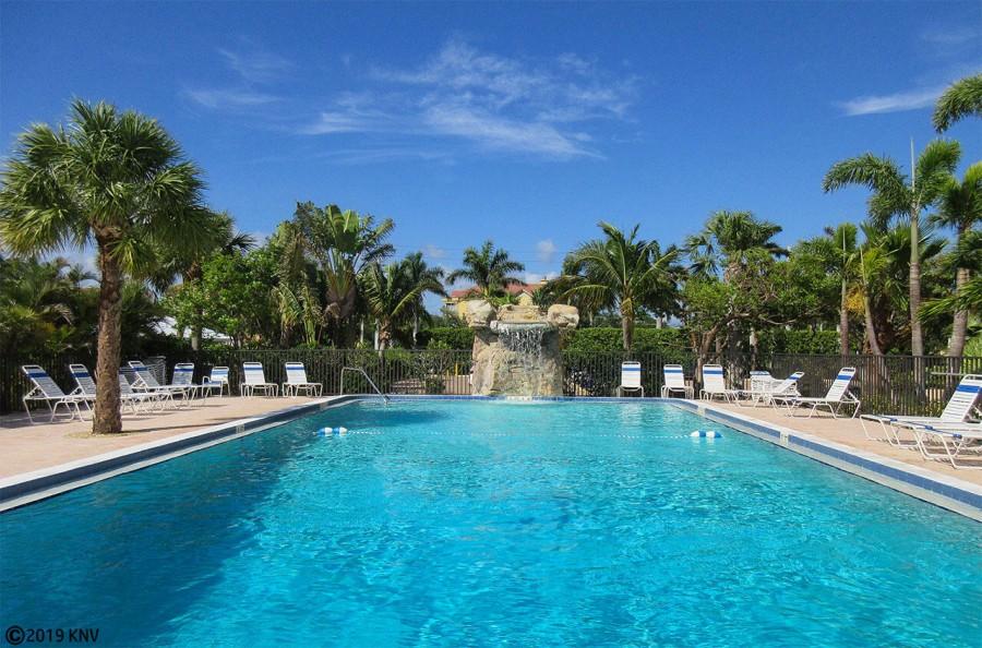 Heated Pool at Riviera Beach Club