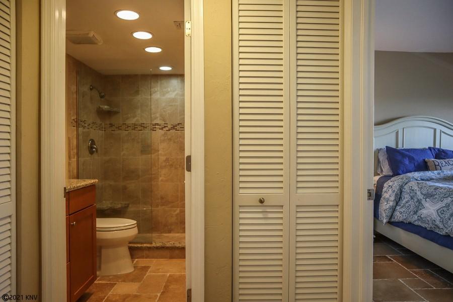 Guest Bath is right next door to the Guest Bedroom