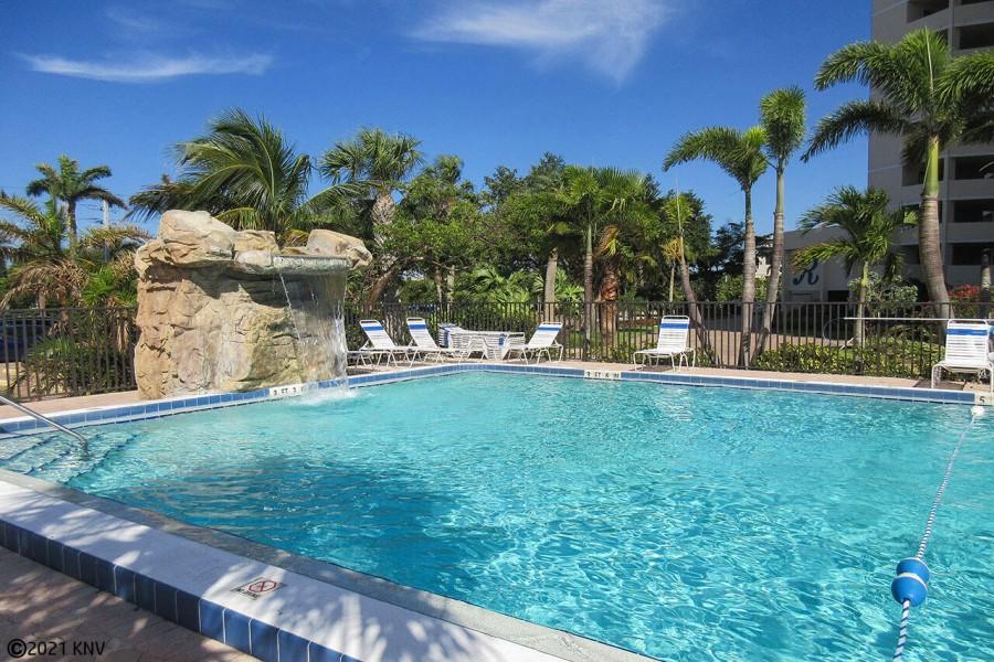 Resort sized pool at Riviera Club