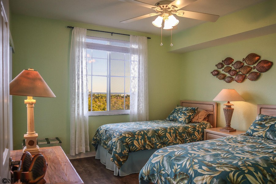 First Guest Bedroom has two Twin Beds