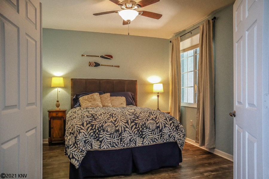 Second Guest Bedroom features a comfortable Queen sized bed.