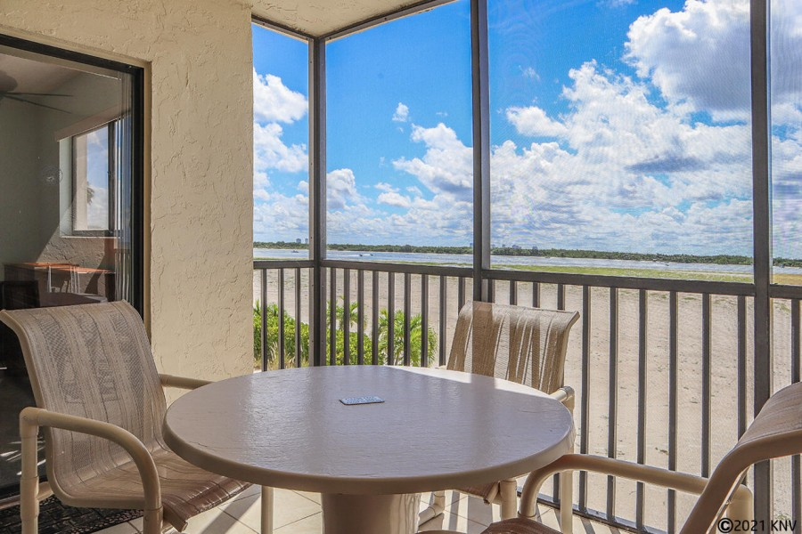 Screened In Lanai is the perfect spot to relax
