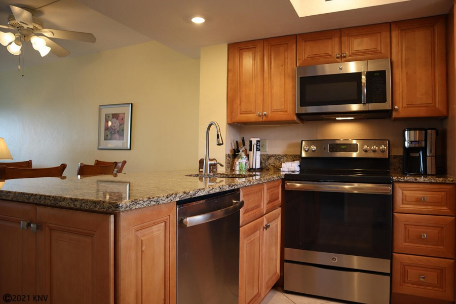 Beautiful kitchen at Carlos Pointe 134