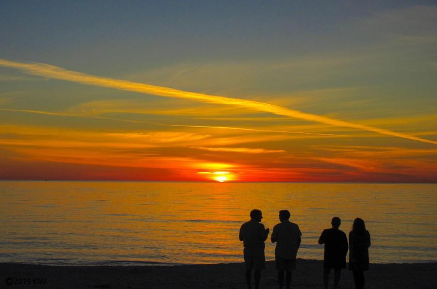 Fort Myers Beach offers a world-class sunset every evening