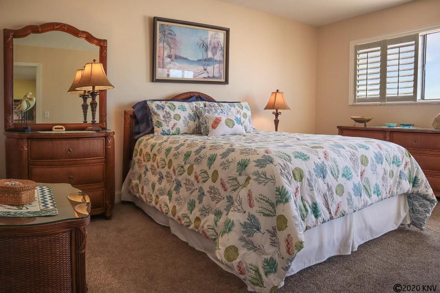 Master Bedroom at Carlos Pointe 222
