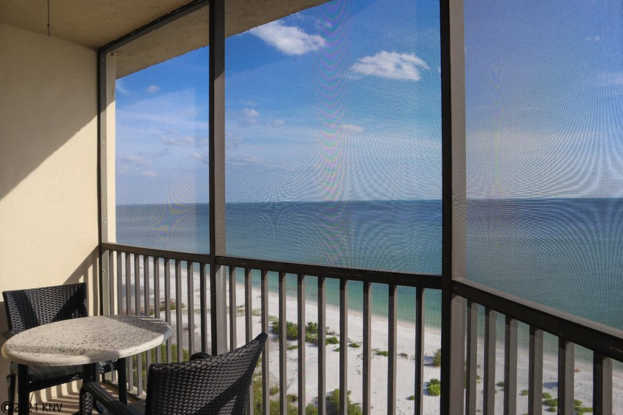 It is all about the view at Riviera Club 1102 vacation condo.