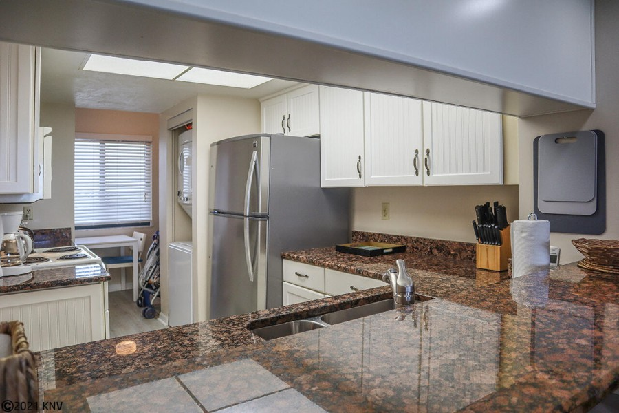 Fully equipped kitchen at Riviera Club 1102