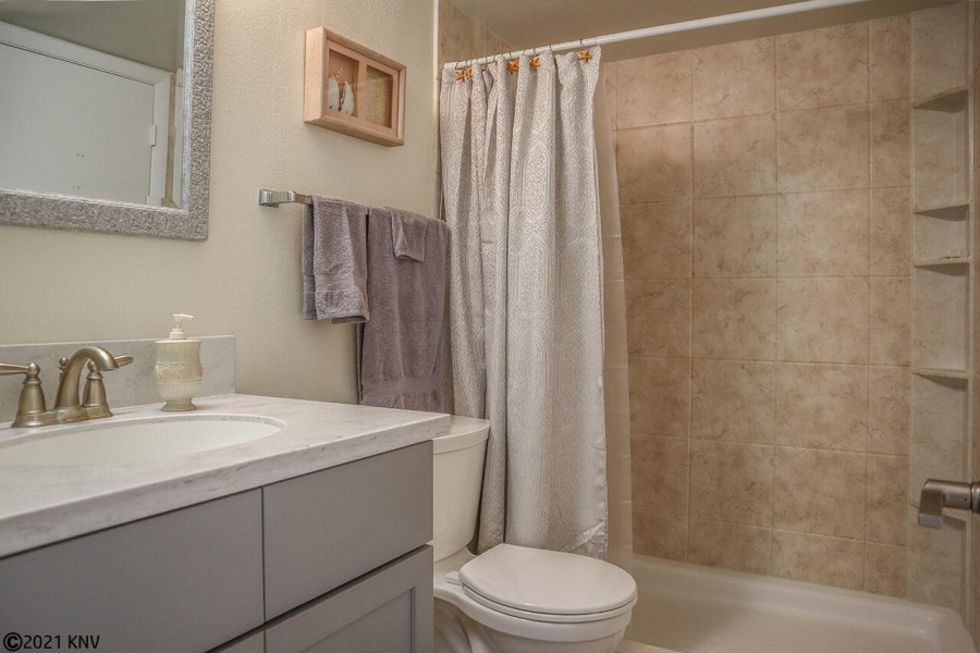 Full Bath with Walk In Shower