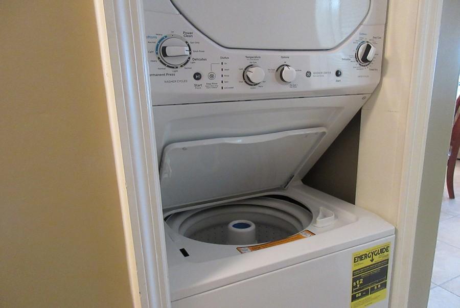 In Unit Washer Dryer in Eden House 205