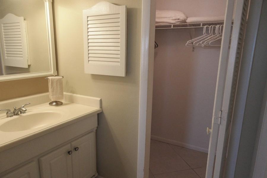 Master Bath with walk in closet