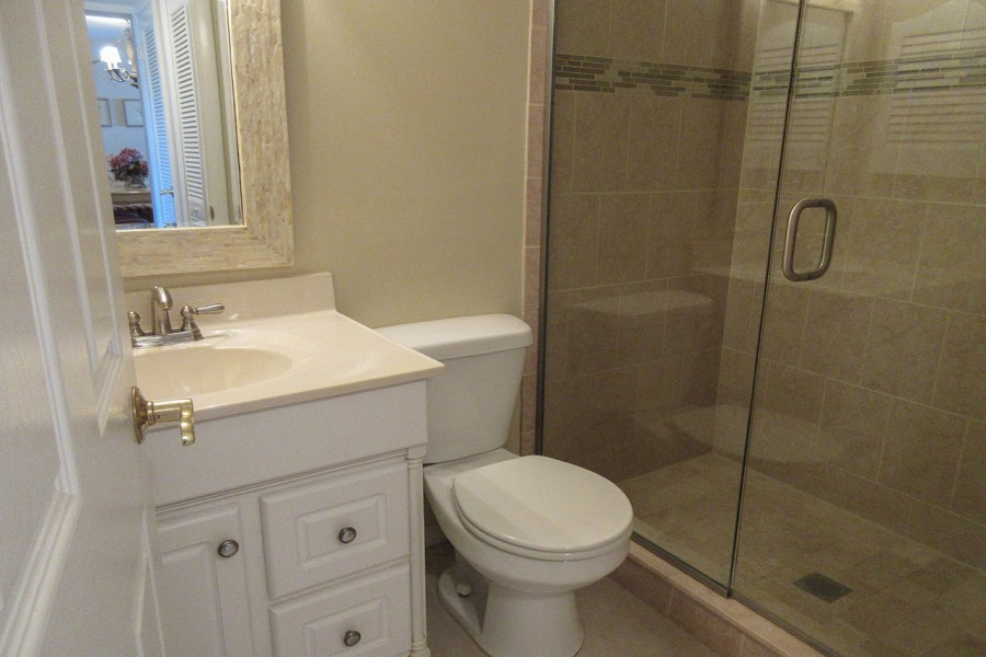 Guest Bath with Walk In Shower