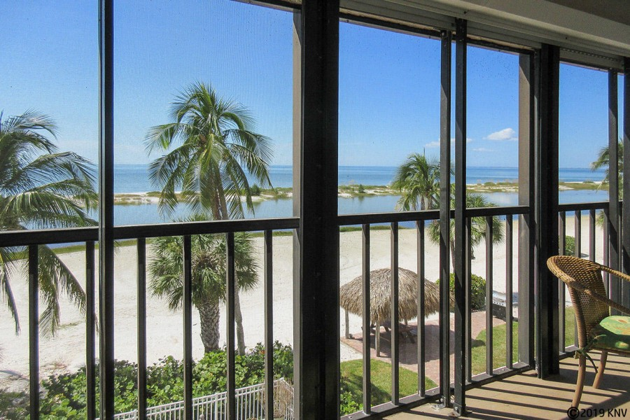 Beautiful View of the Gulf from Eden House 306