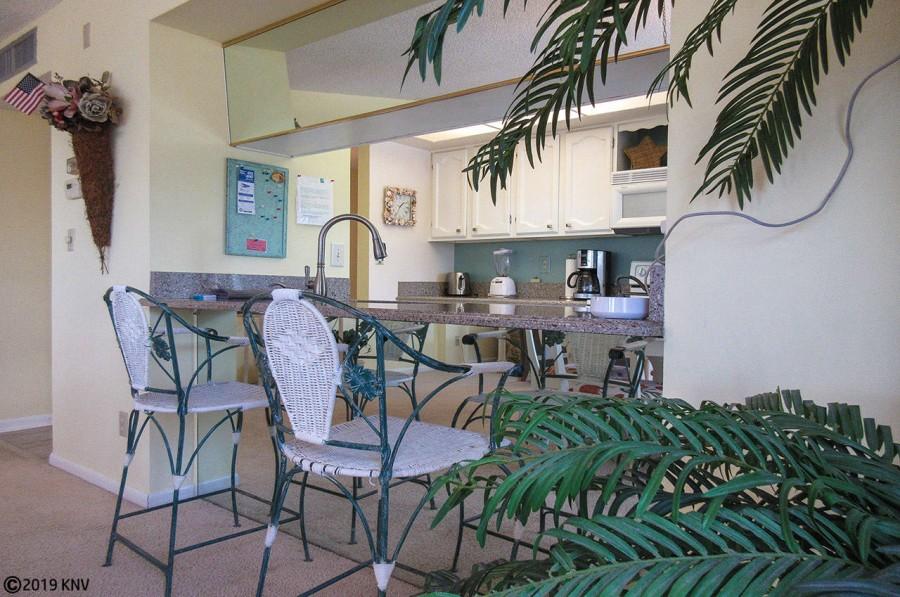 Breakfast Bar at Eden House 306