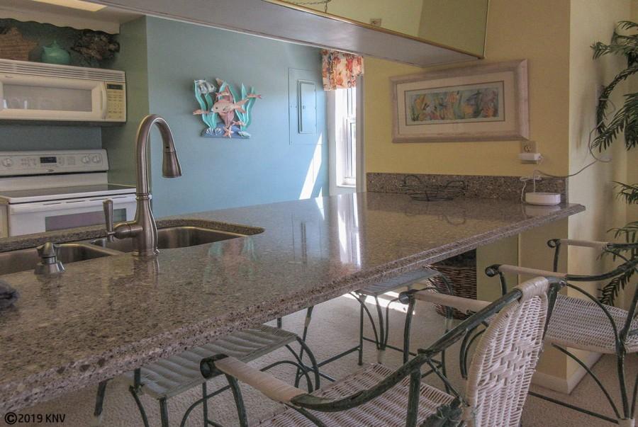 Kitchen at Eden House 306