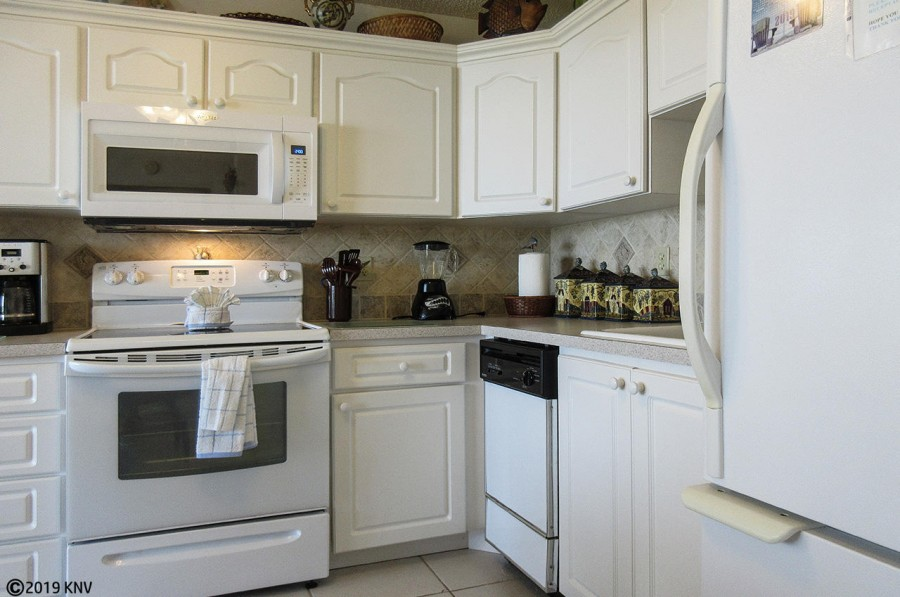 Fully Equipped Kitchen includes dishwasher, all appliances and cookware