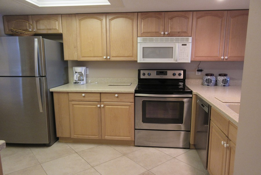Fully equipped kitchen at Eden House 605