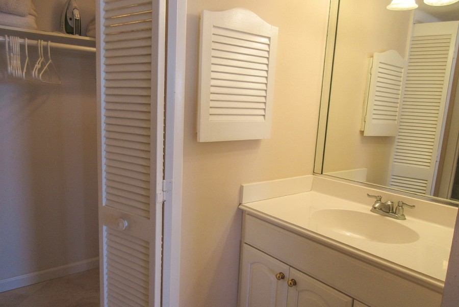 Master Bath with Walk In Closet at Eden House 605