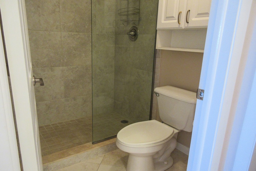 Master Bath Walk In Shower in Eden House 605