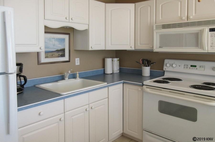 Kitchen at Estero Beach And Tennis Club 606A