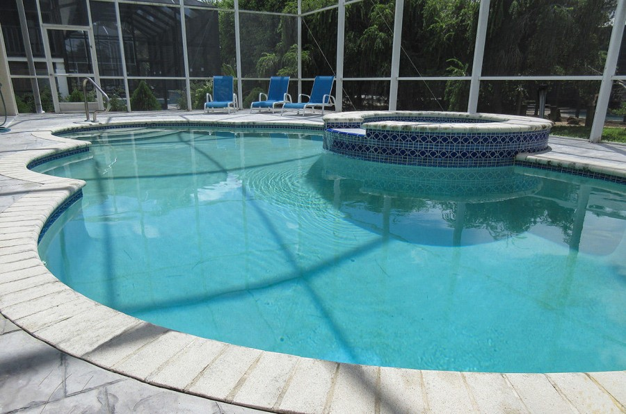 Indian Bayou House Pool and Spa