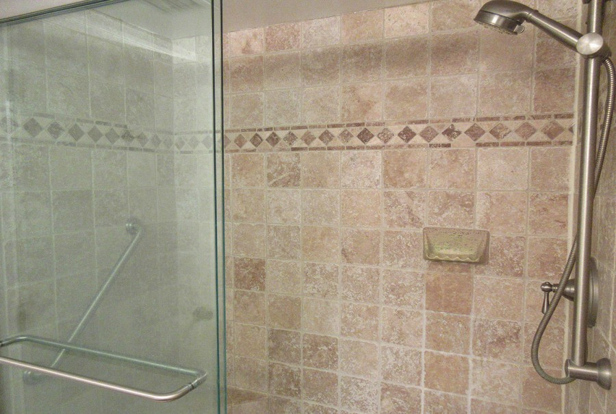 Master Bath Walk In Shower