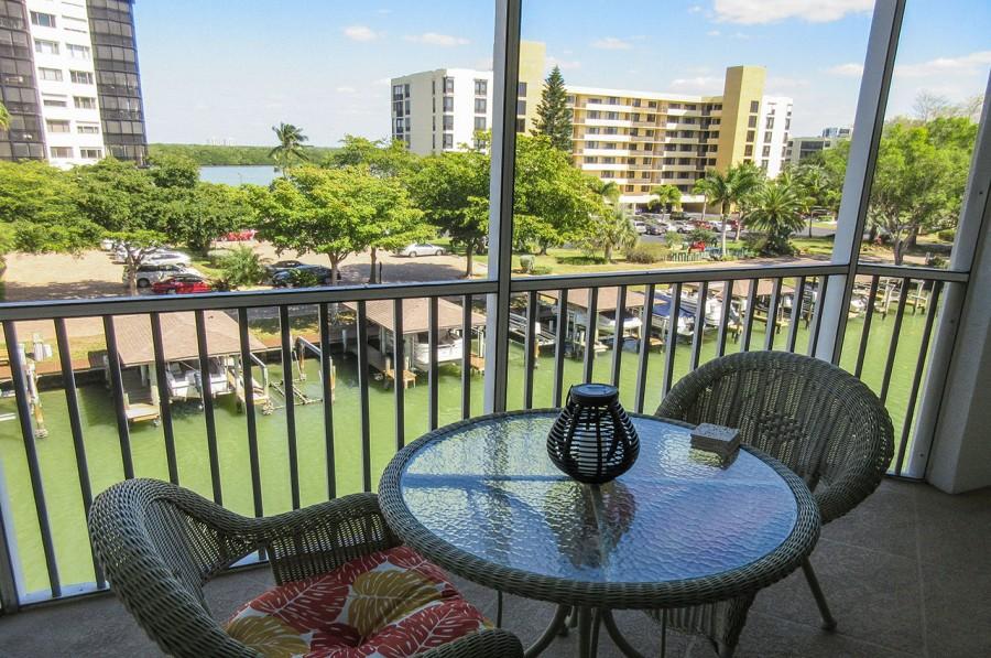 Canal and Bay Water Views at Casa Marina 732