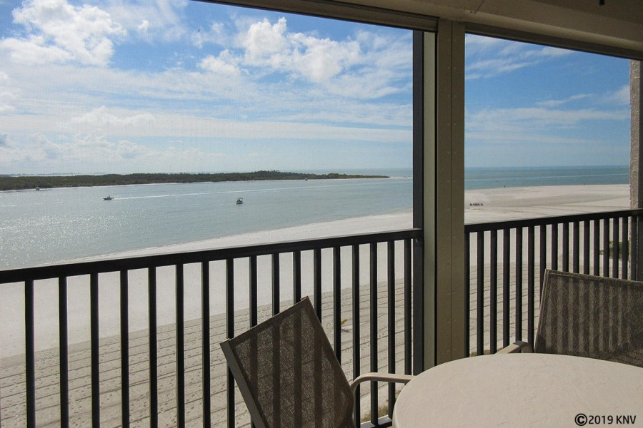 7 miles of white sandy beach are steps away from your vacation condo.