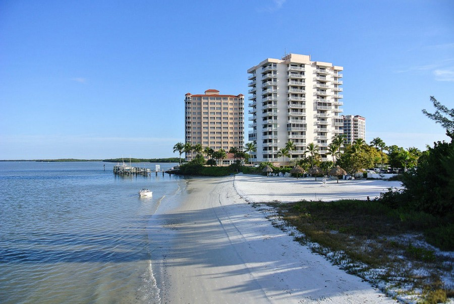 Enjoy your own private beach at Lovers Key Beach Club