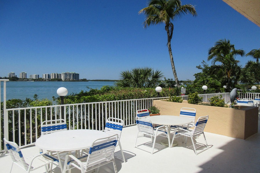 Lovers Key Beach Club has a beautiful Picnic BBQ area on the Bay