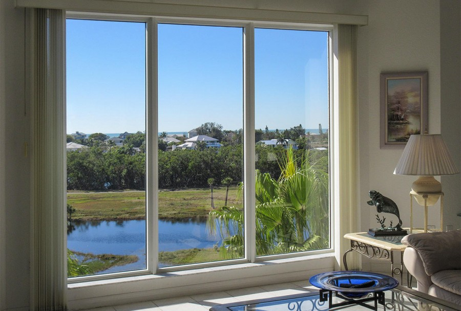 Fantastic View from your Living Room all the way to the Gulf