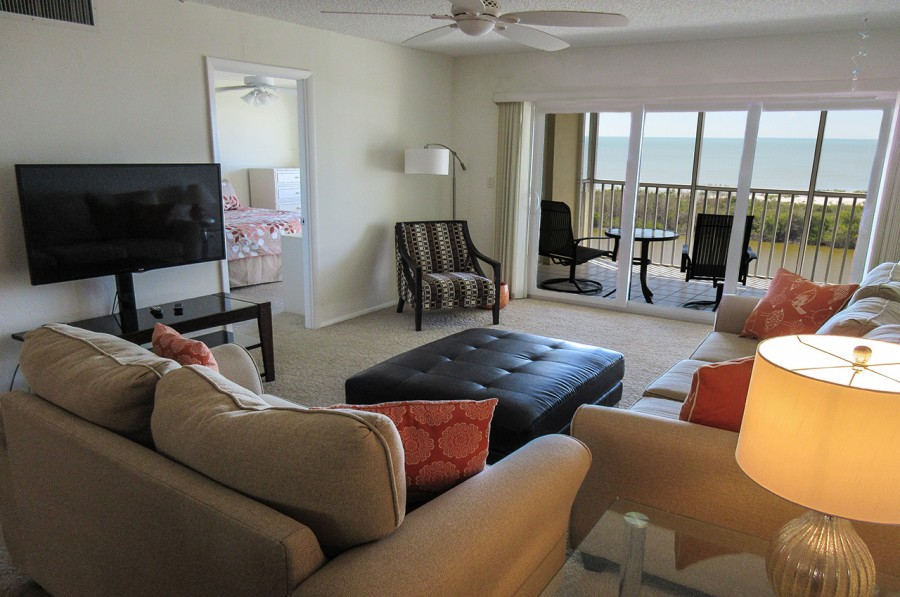 Sand Caper 705 Vacation Condo with beautiful direct Gulf views