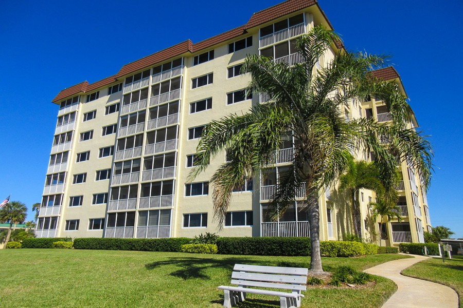 Sand Caper Resort Condos located right on the Gulf