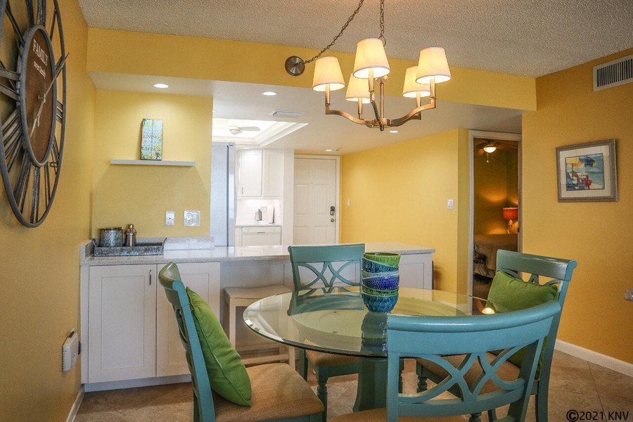 Terra Mar 603 is a sixth floor vacation condo on the south end of the island