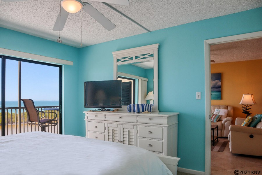 Gorgeous views greet you every morning when you wake up in the Master Bedroom