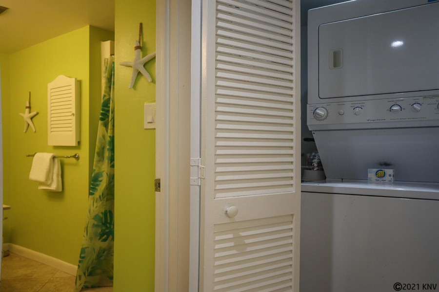 Washer Dryer in the condo - do laundry at your convenience