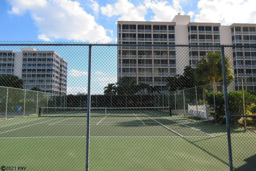 Terra Mar has its own Tennis Courts