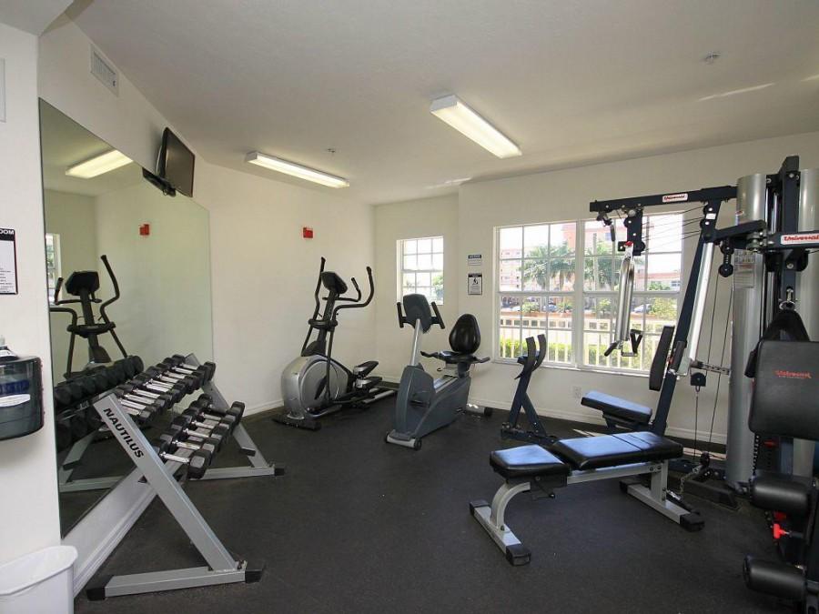 Fitness Room at Bella Lago