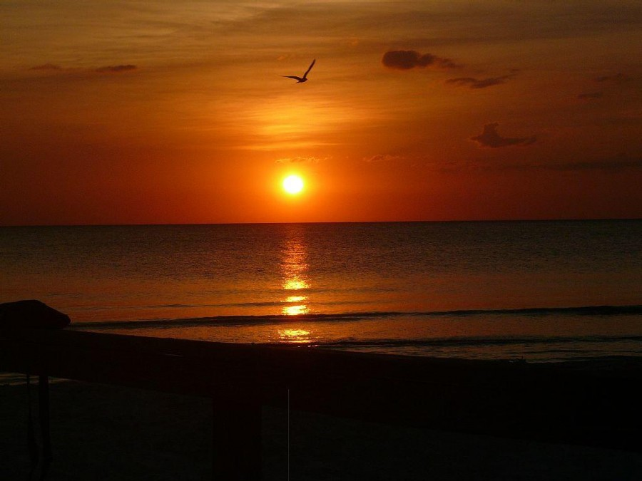 World class sunsets on Fort Myers Beach