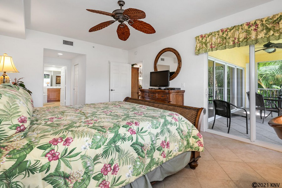 Private Lanai Access from the Master Bedroom