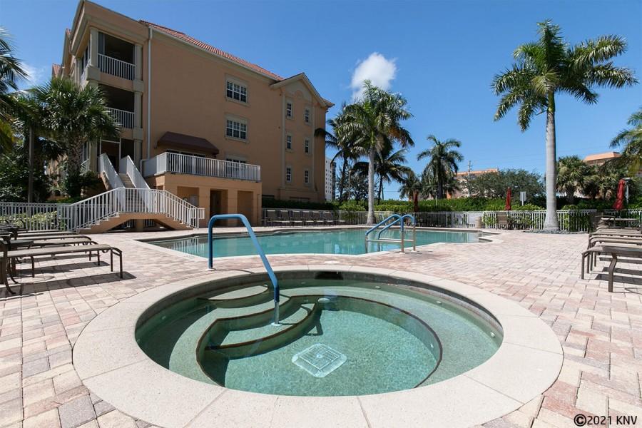 Bella Lago Resort Sized Heated Pool and Spa