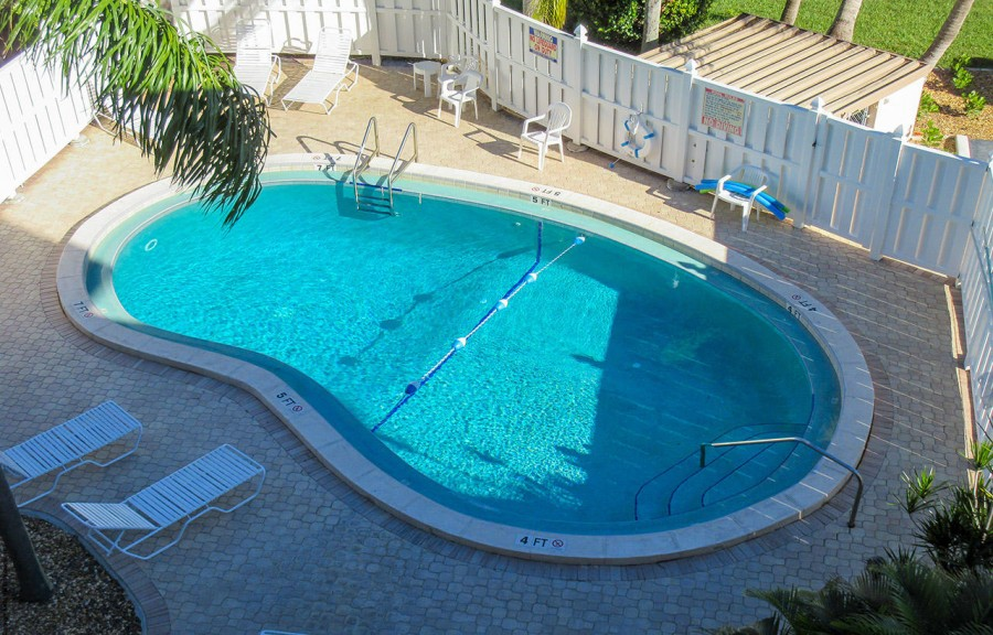 Castle Beach Gulf Front Condominiums  - Resort Pool