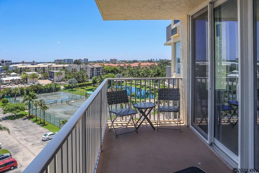 7th Floor Balcony - Estero Beach And Tennis Club 701A