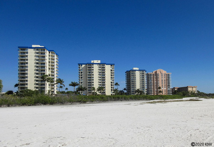 Estero Beach And Tennis Club sits right on the beachfront