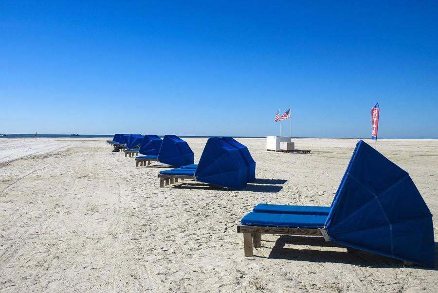 Carlos Pointe Beachfront on 7 miles of white sandy beach