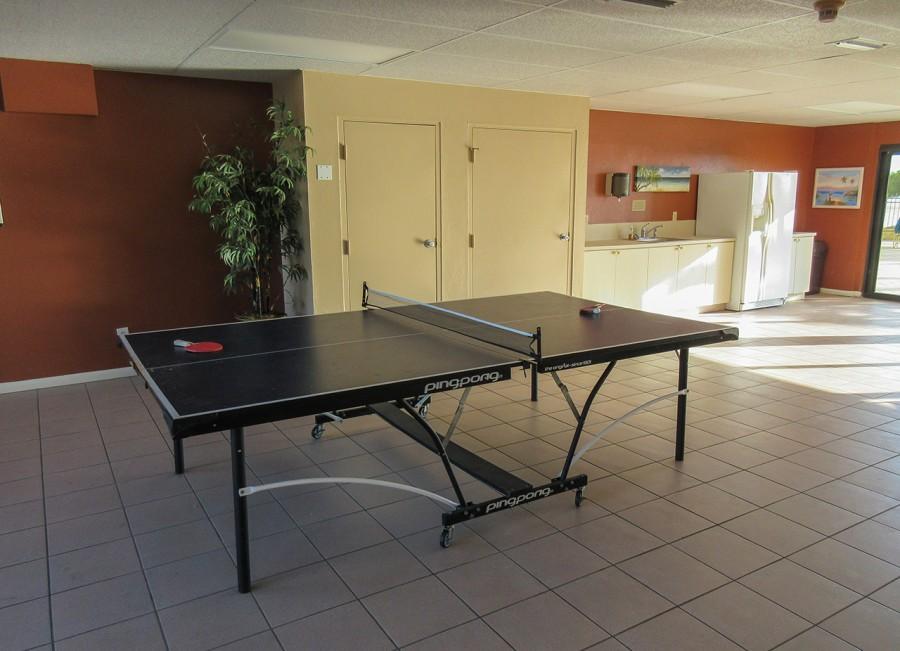 Carlos Pointe Beachfront Resort Condominiums Social Room for Guests