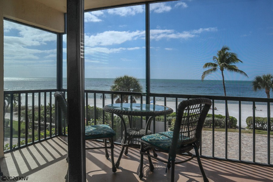 Fabulous View of the Gulf from your screened in lanai